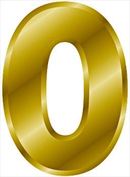 gold-number-0