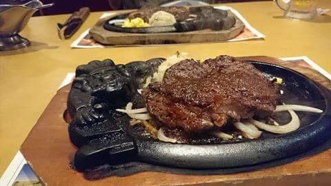 夜ランからのステーキ 「ブロンコビリー」草加松原店さん!