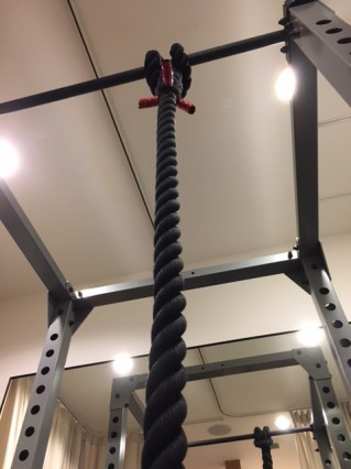 ロープ(綱)を使ったパーソナルトレーニング